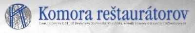 Komora reštaurátorov - logo