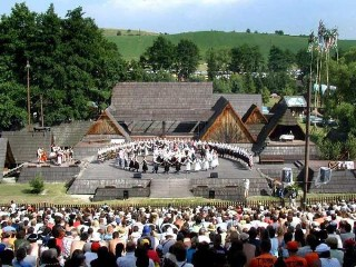 Folklore Festival in Detva - Amfiteater (photo by Ján Ľupták)