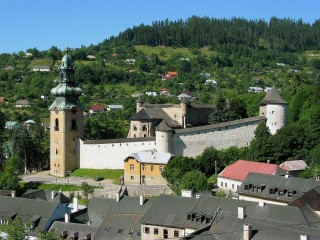 Banská Štiavnica Old Castle (Monuments Board of the SR Archives, photo by Peter Fratrič)