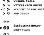 VŠVU60 - logo