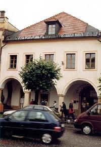 Budova Múzea špeciálneho školstva na Námesti Majstra Pavla v Levoči (photo by František Brincko)