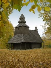 Greek Catholic Wooden Church of St Nicholas the Bishop at Ruská Bystrá (photo by Peter Fratrič)
