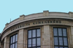 Comenius University in Bratislava (photo by Tim Doling)