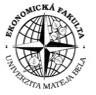 Faculty of Economics of Matej Bel University - logo