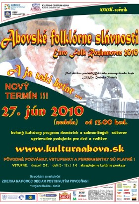 Folklore Festivities of Abov - Poster