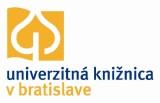 University Library in Bratislava - logo