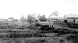 Early view looking north along Gympie Road, Strathpine, early 1900s