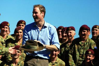 Prince William In Australia 2010