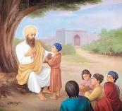 Guru Angad, the 2nd Sikh Guru and creator of the Gurmukhi script (1504-1552)